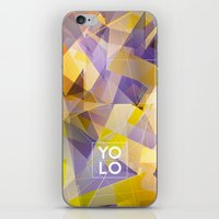 sayings iPhone & iPod Skins featuring Dreams of YOLO Vol.1 by HappyMelvin