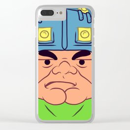 Man-At-Arms Clear iPhone Case