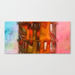 Triptych. Well-tempered Canvas Print
