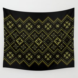 Solar signs. Ancient ornament. Sacred geometry Wall Tapestry