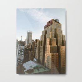 The New Yorker pt.1 Metal Print