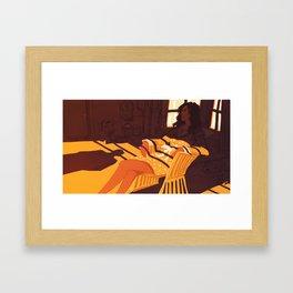 A Morning Affair Framed Art Print
