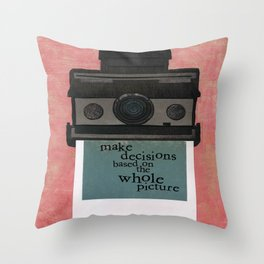 Whole Picture Throw Pillow