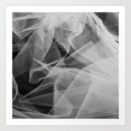 Abstract veil background 2 Art Print