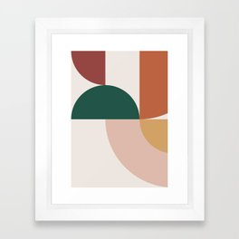 Abstract Geometric 12 Framed Art Print