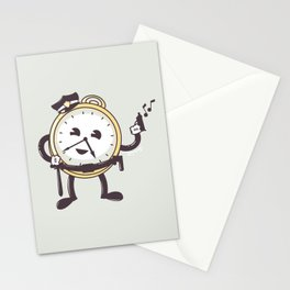 TimeCop Stationery Cards