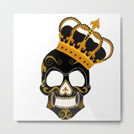 The Skull king Metal Print