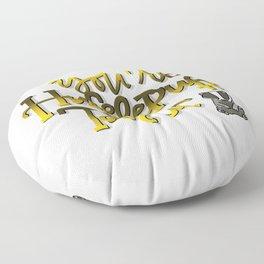 Hufflepufftastic Floor Pillow