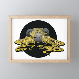Lady of the Lake Framed Mini Art Print