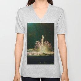 The Fountain of Apollo (soft) Unisex V-Neck