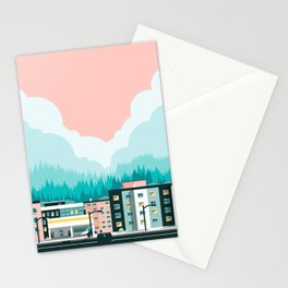 A View of 12th Avenue Stationery Cards