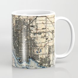 Vintage of Baltimore Maryland (1898) Coffee Mug
