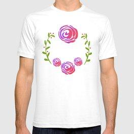 Floral Round T-shirt