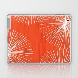 Dandelions in Red by Friztin Laptop & iPad Skin