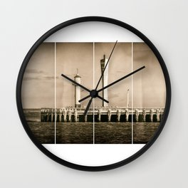 4 Quarters of the Pier Wall Clock