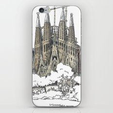 Sagrada Familia, Barcelona iPhone & iPod Skin