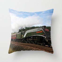 60009 Union of South Africa Throw Pillow