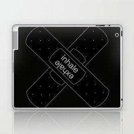 inhale exhale plaster Laptop & iPad Skin