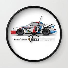 Porsche 1980 911SC Tribute to Brumos Wall Clock