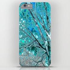 Digital Tree Cyan Slim Case iPhone 6 Plus