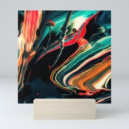 ABSTRACT COLORFUL PAINTING II-A Mini Art Print
