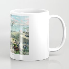 Battle Between The Monitor And Merrimac Coffee Mug