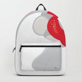 Kids Valentine Elephant Valentine Backpack