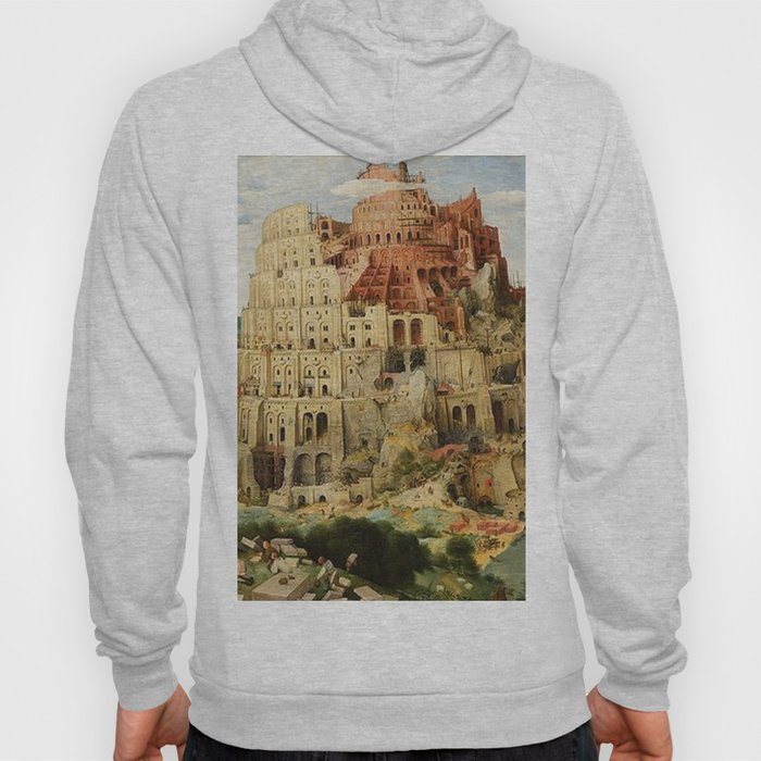 Tower Of Babel Pieter Bruegel The Elder Hoody