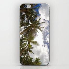 Boracay Palm trees iPhone Skin