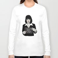 mia wallace Long Sleeve T-shirts featuring Mia by Sofia Bonati