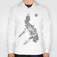 philippines Hoodies featuring Paranormal Philippines (white) by Rev Cruz