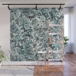 Botanical Pattern Wall Mural