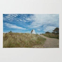 Sand covered Church in Skagen, Denmark Rug
