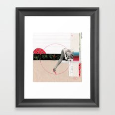 Draw It 3 Framed Art Print