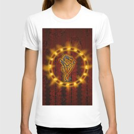 Awesome tribal dragon T-shirt