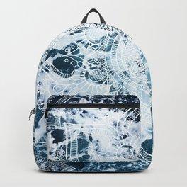 Ocean Mandala - My Wild Heart Backpack