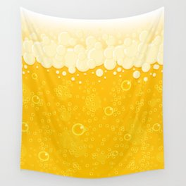 Beer Bubbles Wall Tapestry