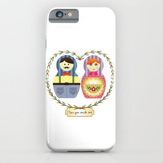 I {❤} Matryoshka iPhone & iPod Case