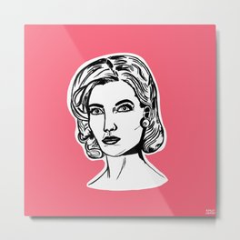 Betty Draper Metal Print