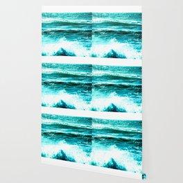 California Ocean Waves Wallpaper
