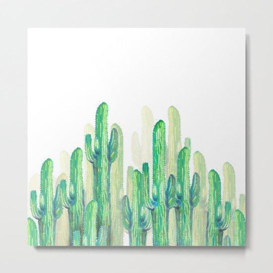 cactus vertical Metal Print