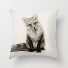 Fox Say What?! Throw Pillow