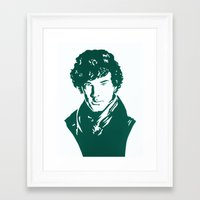 benedict Framed Art Prints featuring Benedict by iankingart