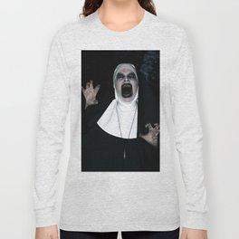 Valak Screaming Long Sleeve T-shirt