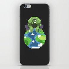 The World Breaker iPhone & iPod Skin