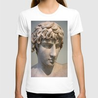 greece T-shirts featuring Classic. Greece. by Andrew Brown