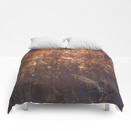 Rust. Fashion Textures Comforters