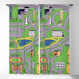 Road Rug Blackout Curtain