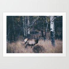 elk-y .  Art Print