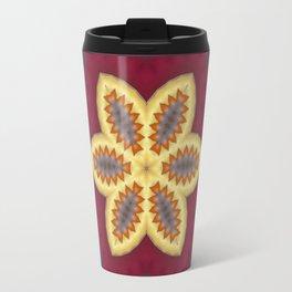 New Color Pyramidal Mandala 73 - Pattern 3 Travel Mug